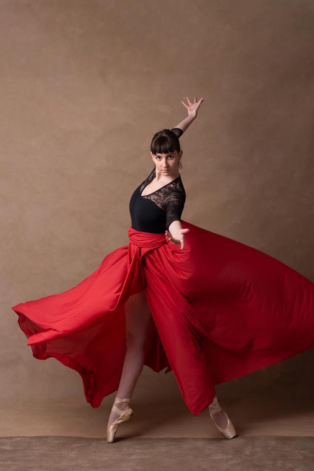 Sesja baletowa Katarzyna Rudnik - Fotografia portretowa i kobieca